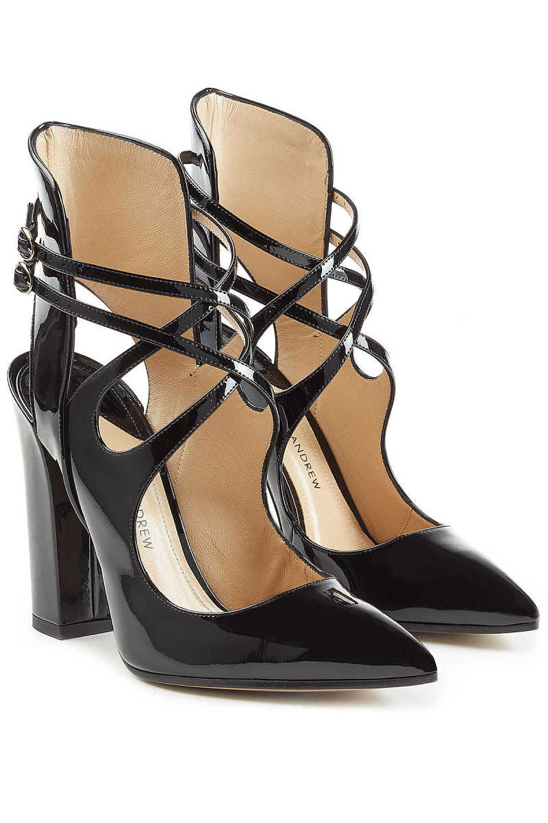 Paul Andrew Patent Leather Pumps GOOFASH 255365