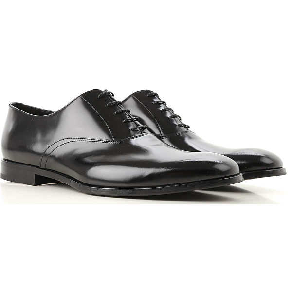 Prada Lace Up Shoes for Men Oxfords