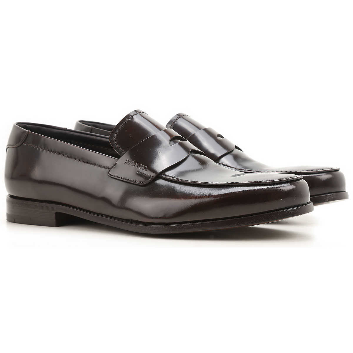 Prada Loafers for Men On Sale in Outlet