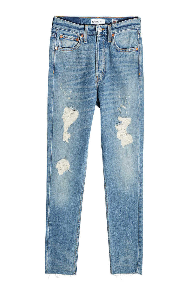 RE/DONE High-Rise Cropped Jeans GOOFASH 274010