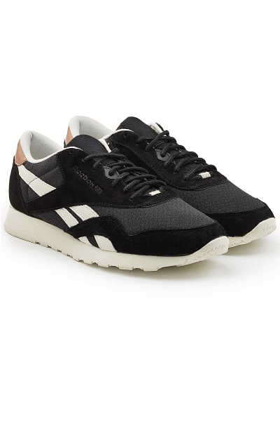 Reebok Classic Sneakers with Fabric and Suede GOOFASH 276341