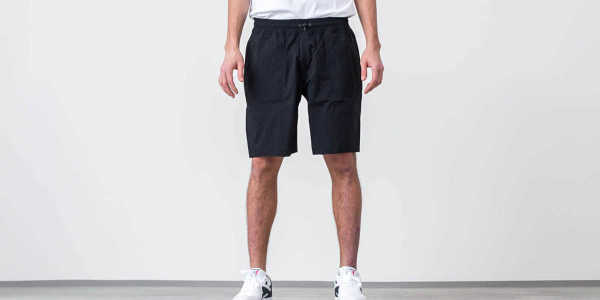 Reigning Champ Woven Stretch Nylon Short Black GOOFASH 29190_L