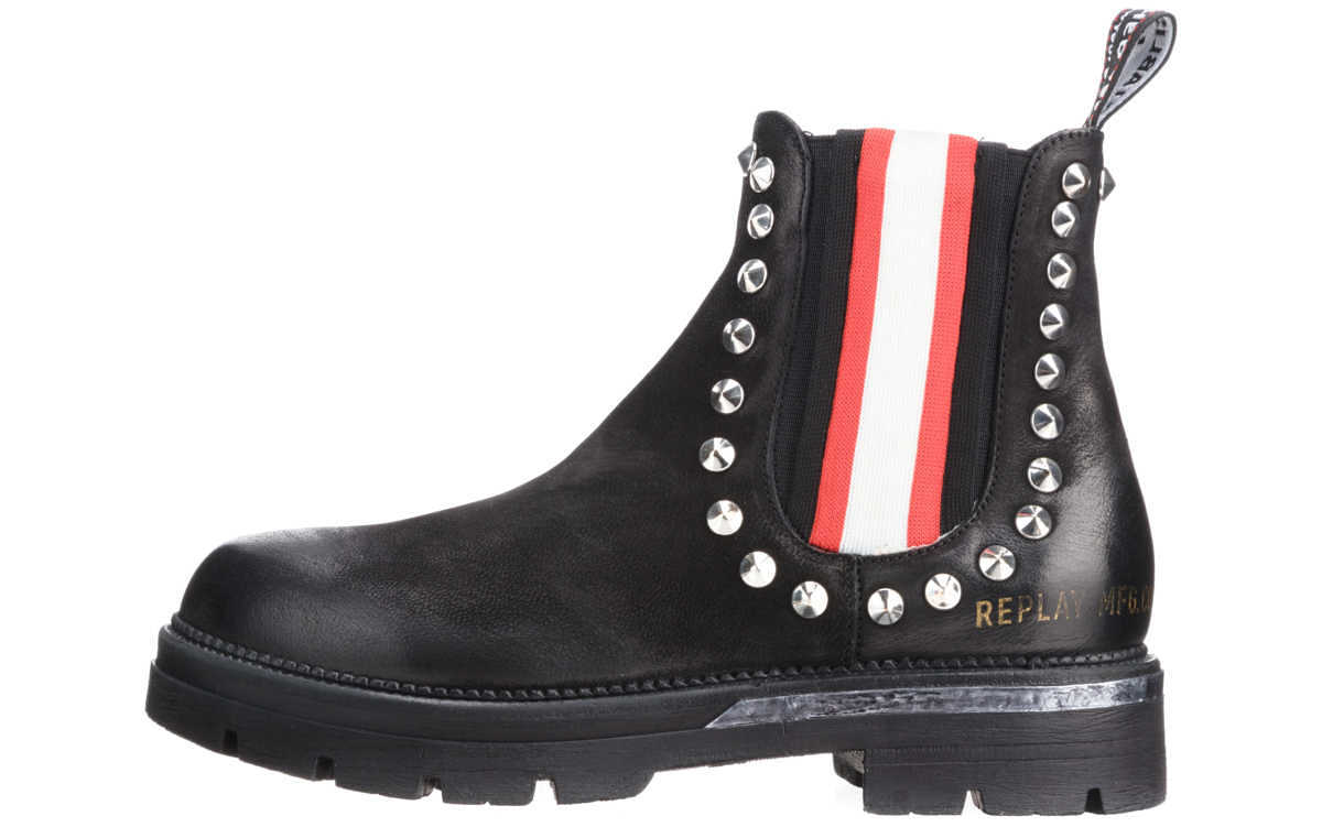 Replay Ankle boots Black GOOFASH 274667