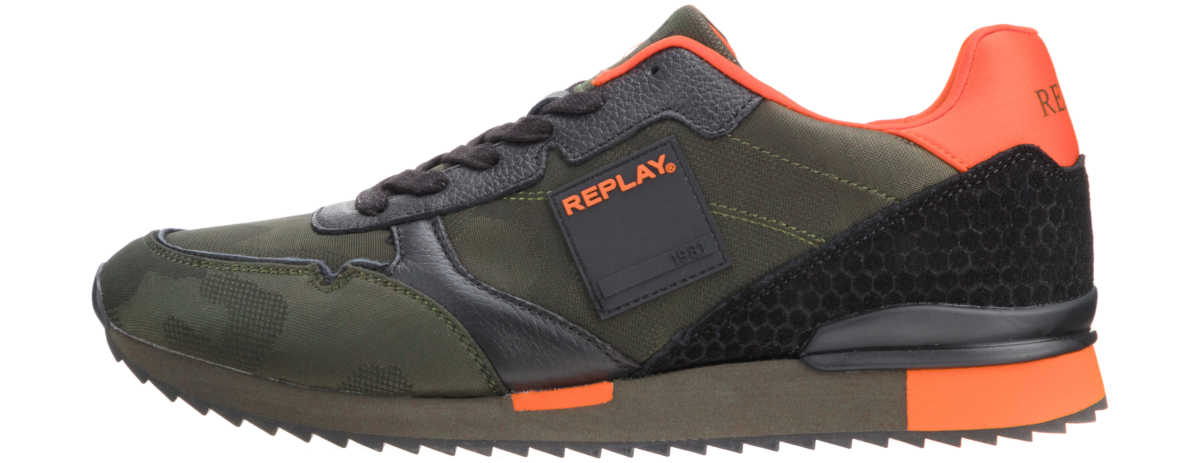 Replay Glimmer Sneakers Green Bibloo