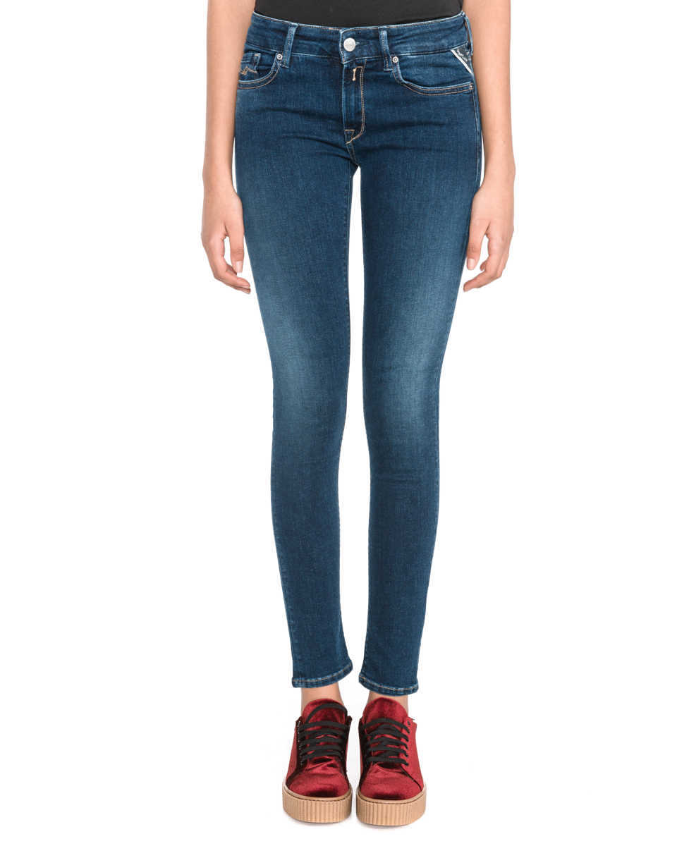 Replay Luz Jeans Blue GOOFASH 291357