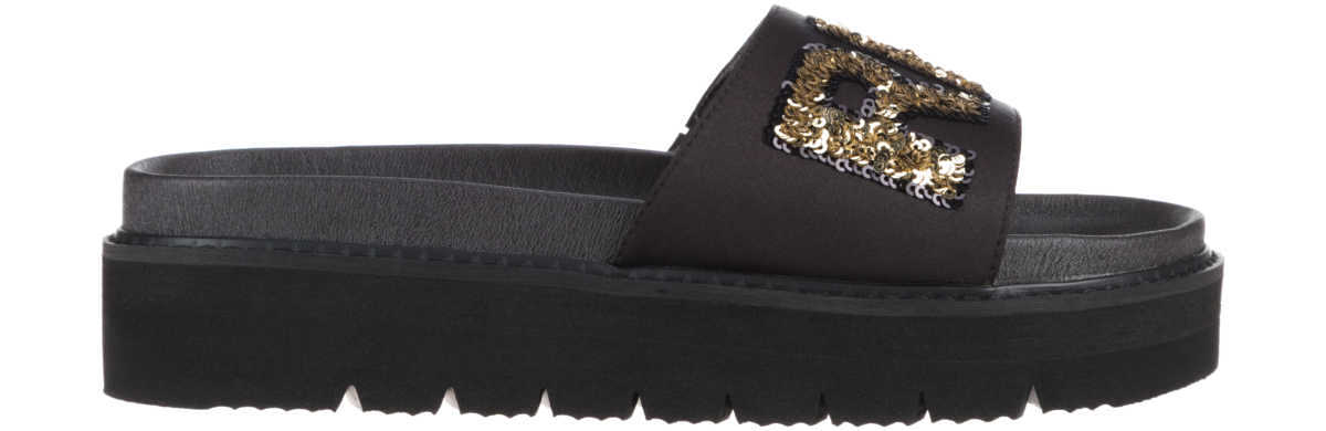 Replay Sioux Slippers Black GOOFASH 315708