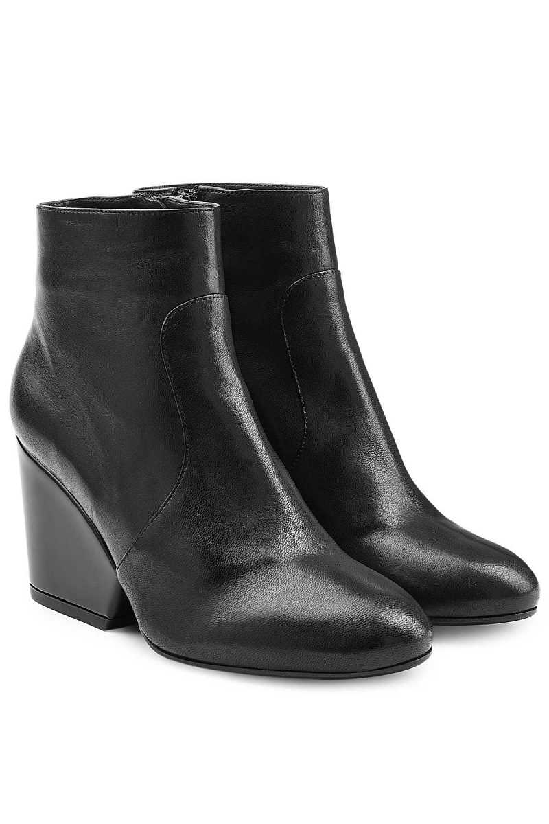 Robert Clergerie Leather Ankle Boots GOOFASH 253841