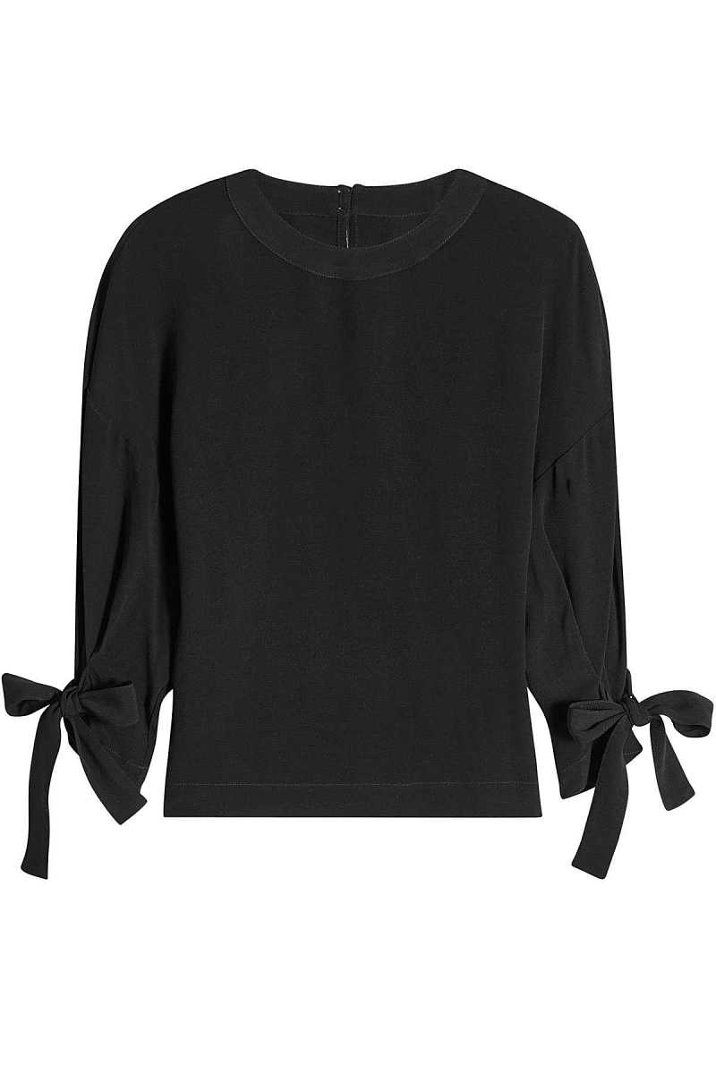 Rosetta Getty Blouse with Knotted Sleeves GOOFASH 275196