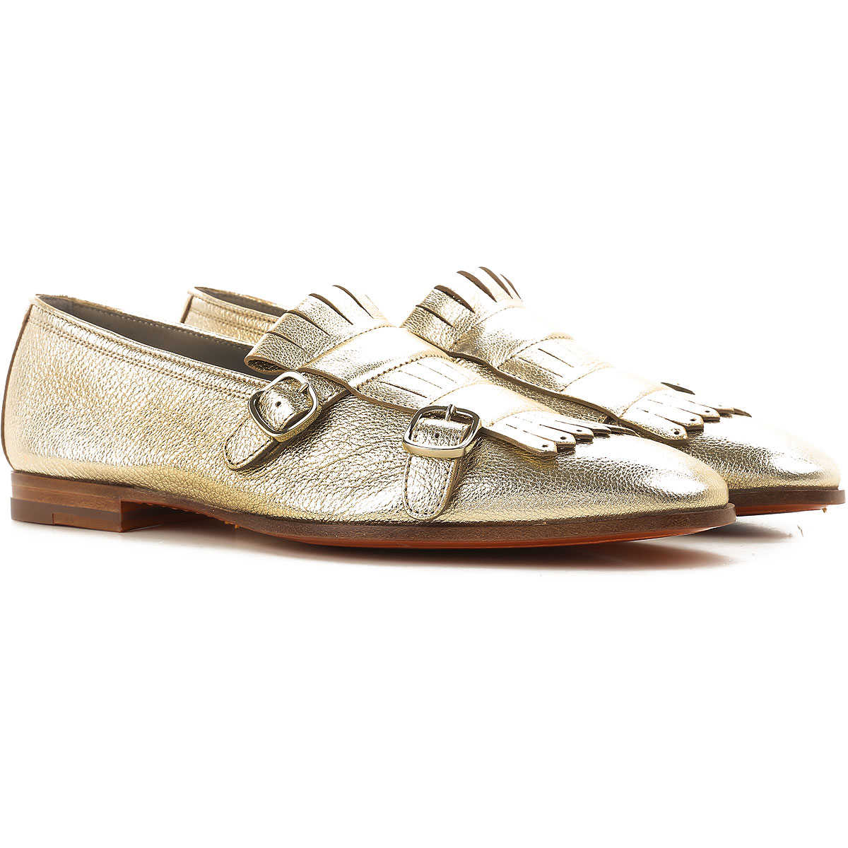 Santoni Loafers for Women On Sale in Outlet