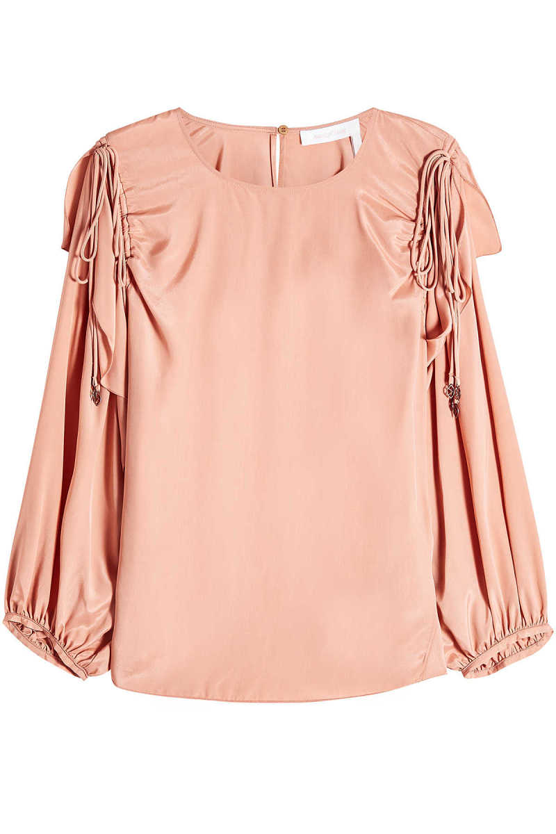See by Chloé Blouse with Silk GOOFASH 285998