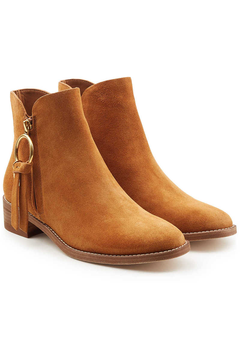See by Chloé Devon Suede Ankle Boots GOOFASH 292289
