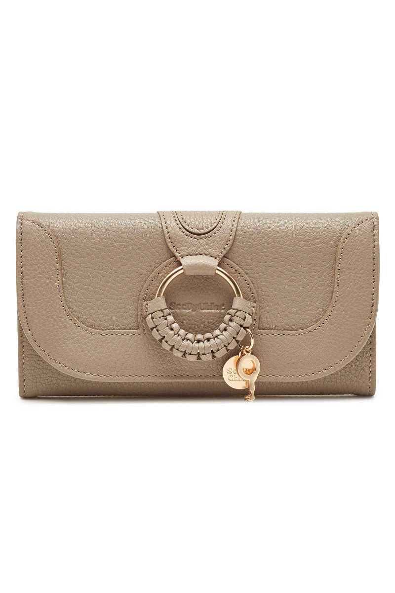 See by Chloé Hana Long Leather Wallet GOOFASH 299789
