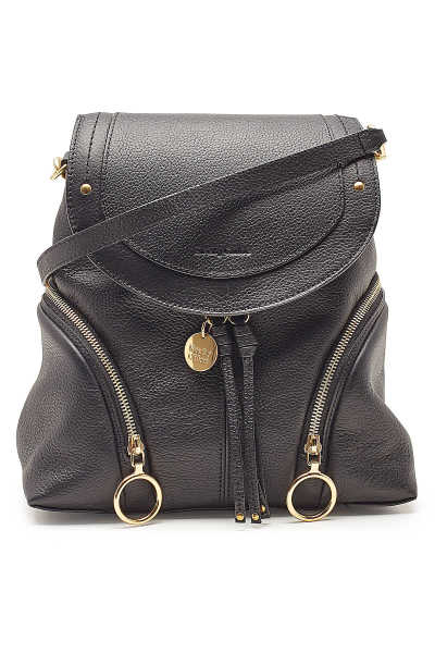 See by Chloé Leather Backpack GOOFASH 299831
