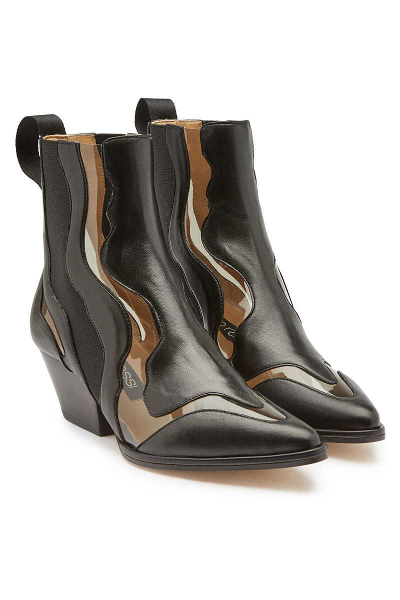 Sergio Rossi Leather Ankle Boots GOOFASH 287964