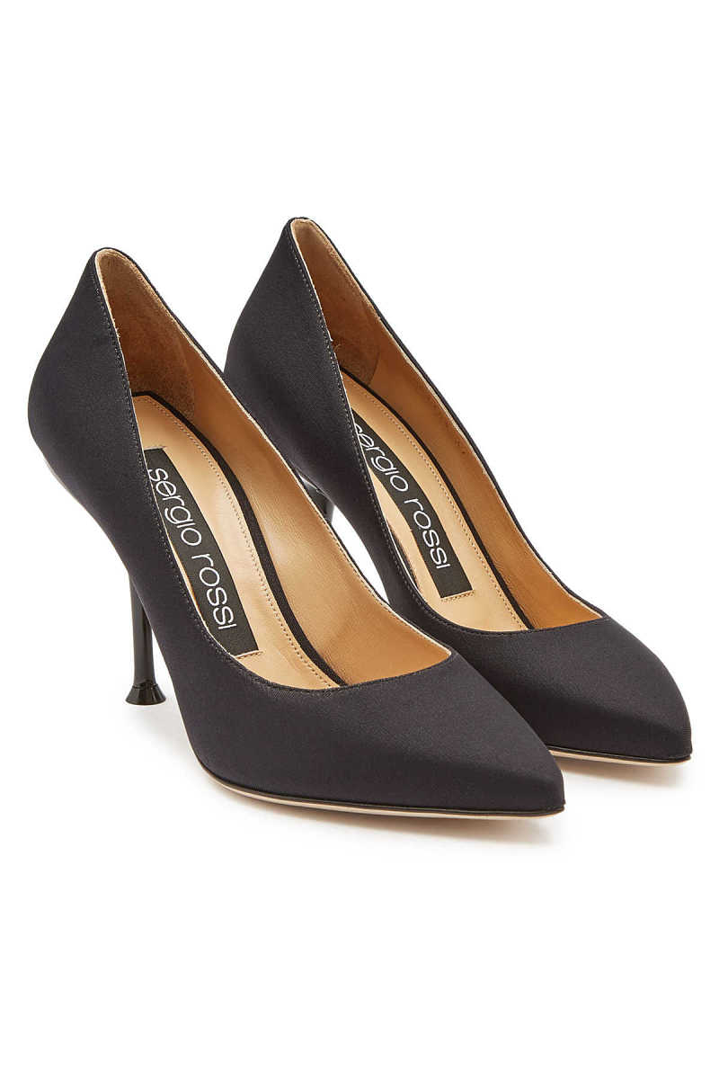 Sergio Rossi Pumps with Leather GOOFASH 287959