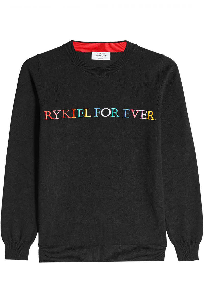 Sonia Rykiel Knitted Pullover with Cotton GOOFASH 268314