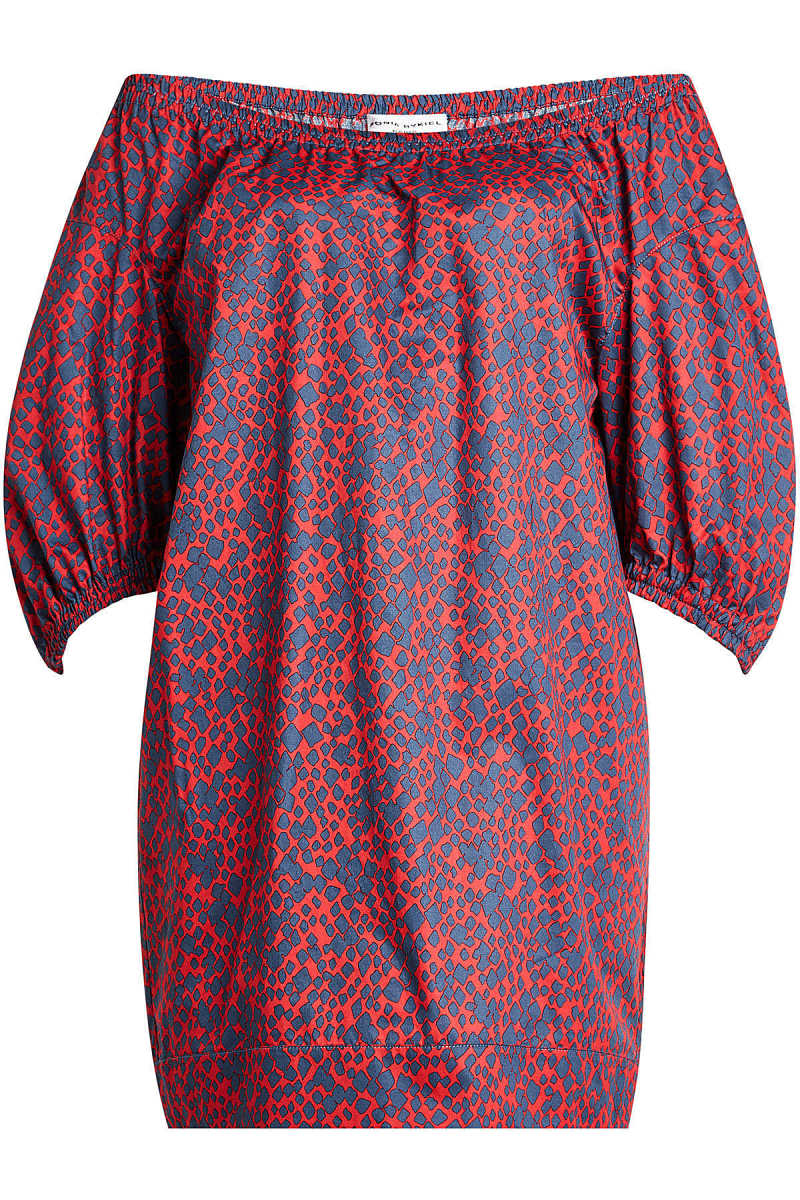 Sonia Rykiel Printed Cotton Dress GOOFASH 266996