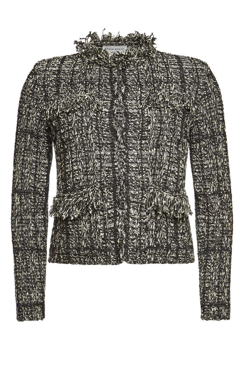 Sonia Rykiel Tweet Blazer with Sequins GOOFASH 297455