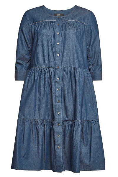 Steffen Schraut Fashionista Denim Dress GOOFASH 297296