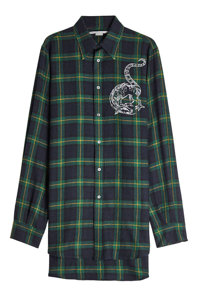 Stella McCartney Embroidered Wool Shirt GOOFASH 275728