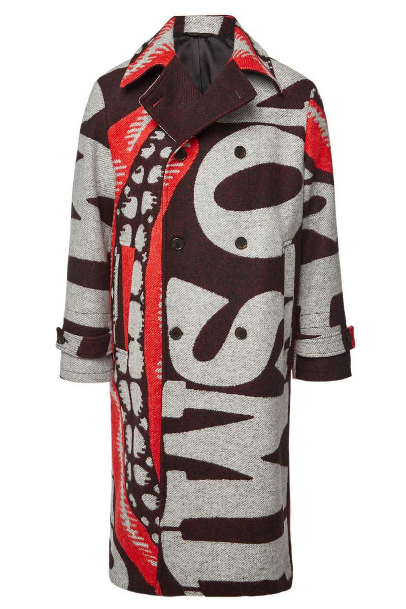 Stella McCartney Lance Wool Coat GOOFASH 292062