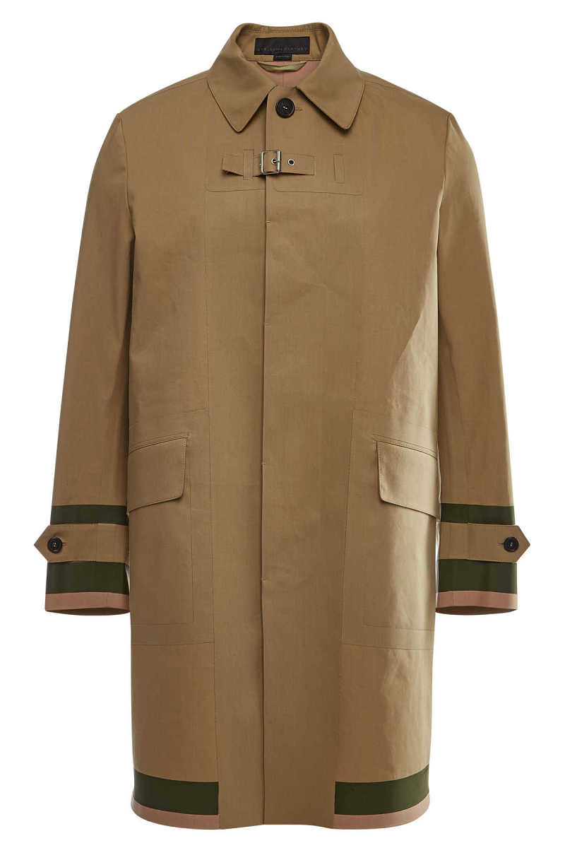 Stella McCartney Luther Cotton Trench Coat GOOFASH 292067