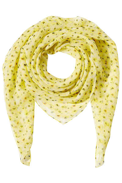 The Kooples Printed Silk Scarf GOOFASH 247932