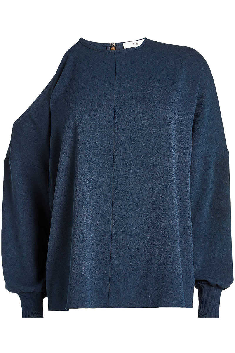 Tibi Blouse with Cold Shoulder GOOFASH 271962