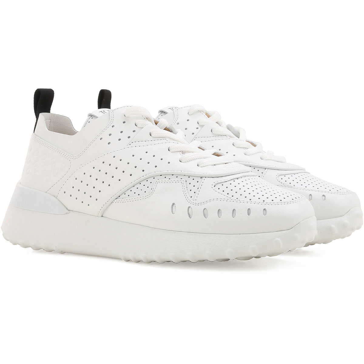 Tods Sneakers for Women, White, Leather