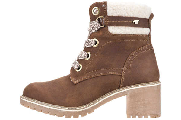 Tom Tailor Ankle boots Brown GOOFASH 270156