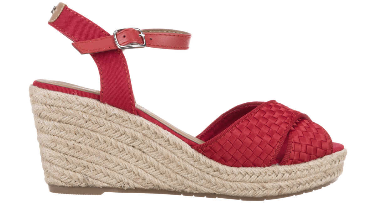Tom Tailor Wedges Red GOOFASH 319610