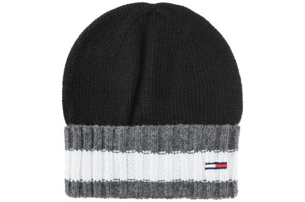 Tommy Hilfiger Corporate Cap Black GOOFASH 290479