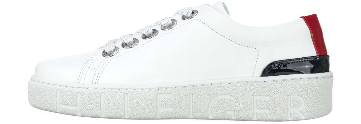 Tommy Hilfiger Sneakers White Bibloo