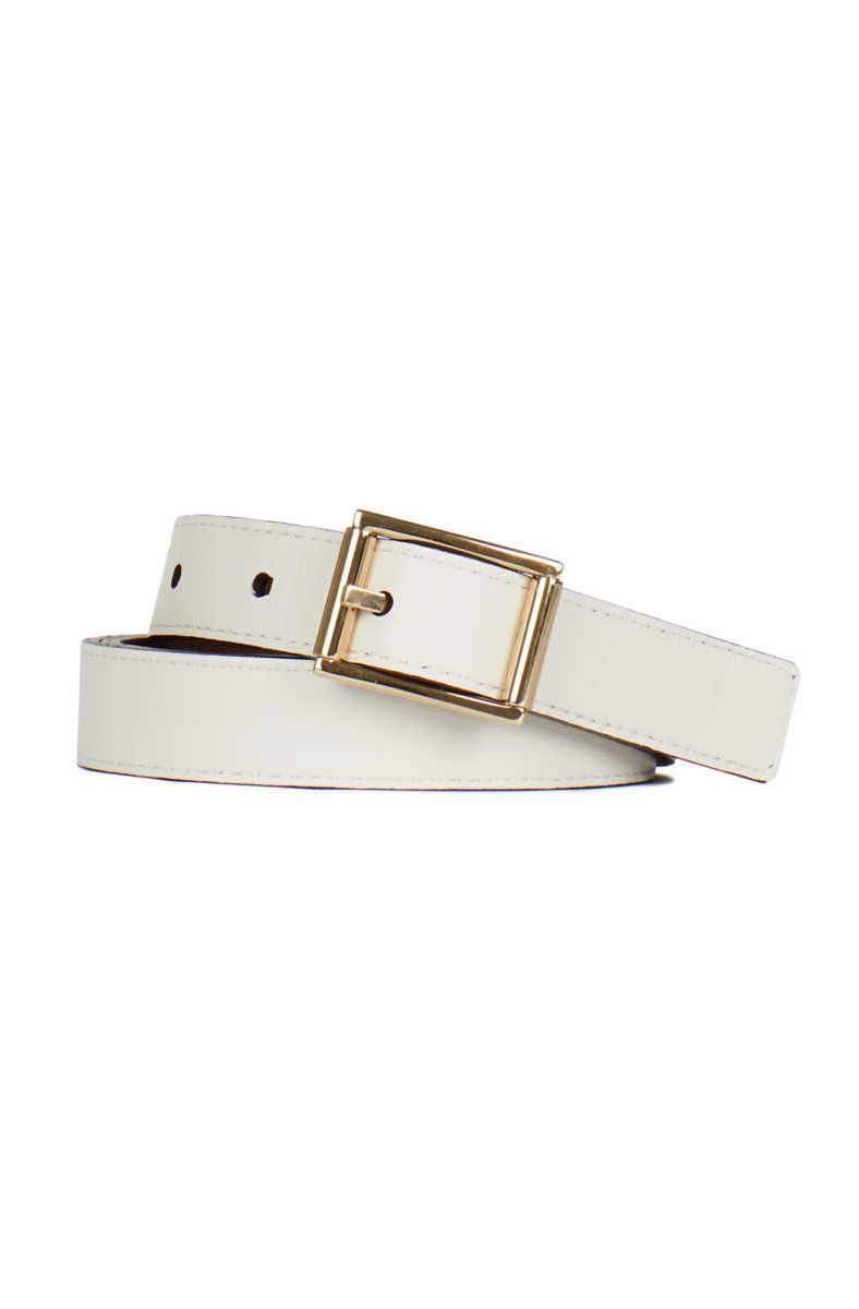 Townsend Reversible Leather Belt GOOFASH BJO110_COCOA-IVORY_S