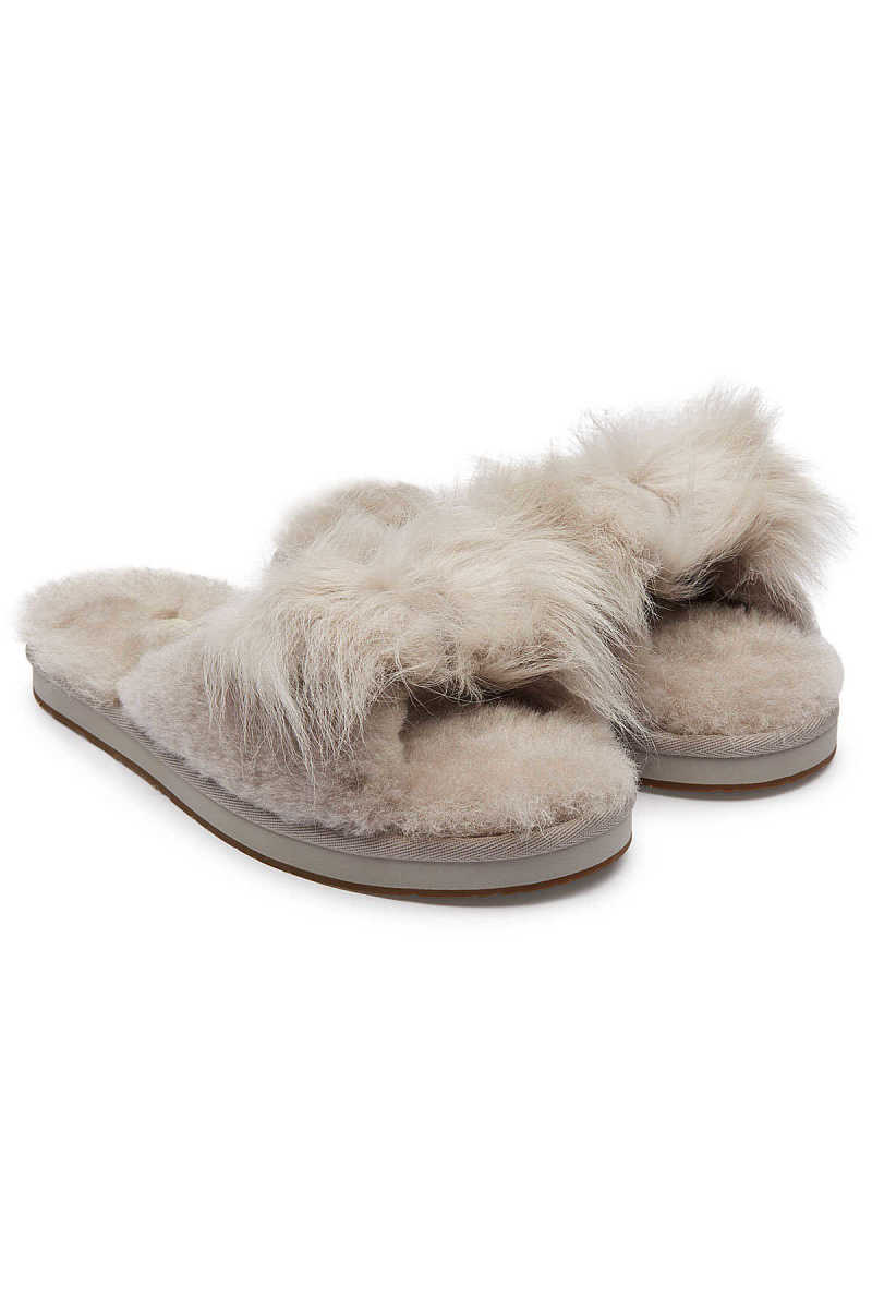 UGG Mirabelle Shearling Slippers GOOFASH 294134