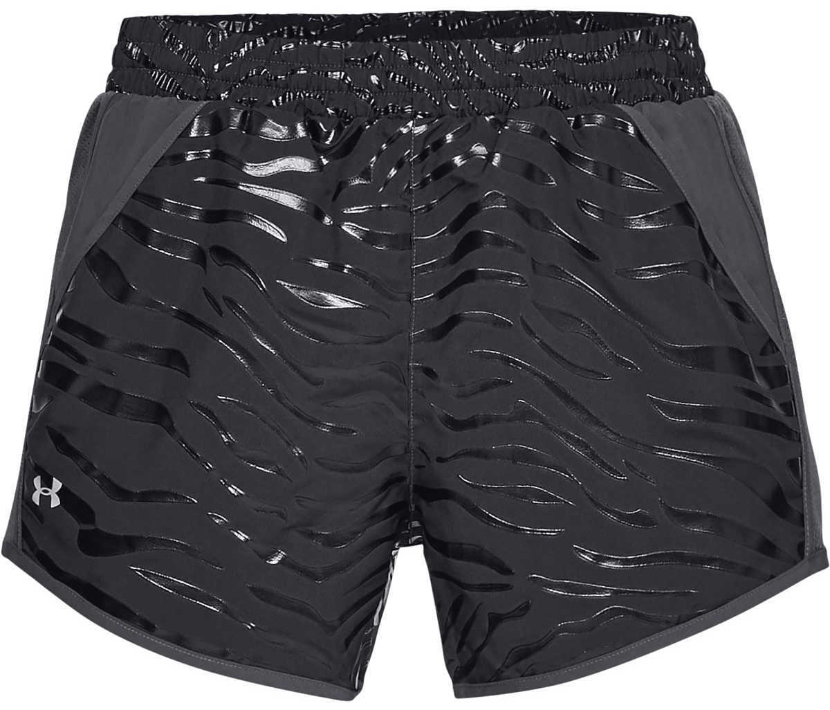 Under Armour Fly-By Shorts Black GOOFASH 302590