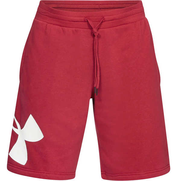 Under Armour Rival Short pants Red GOOFASH 319262