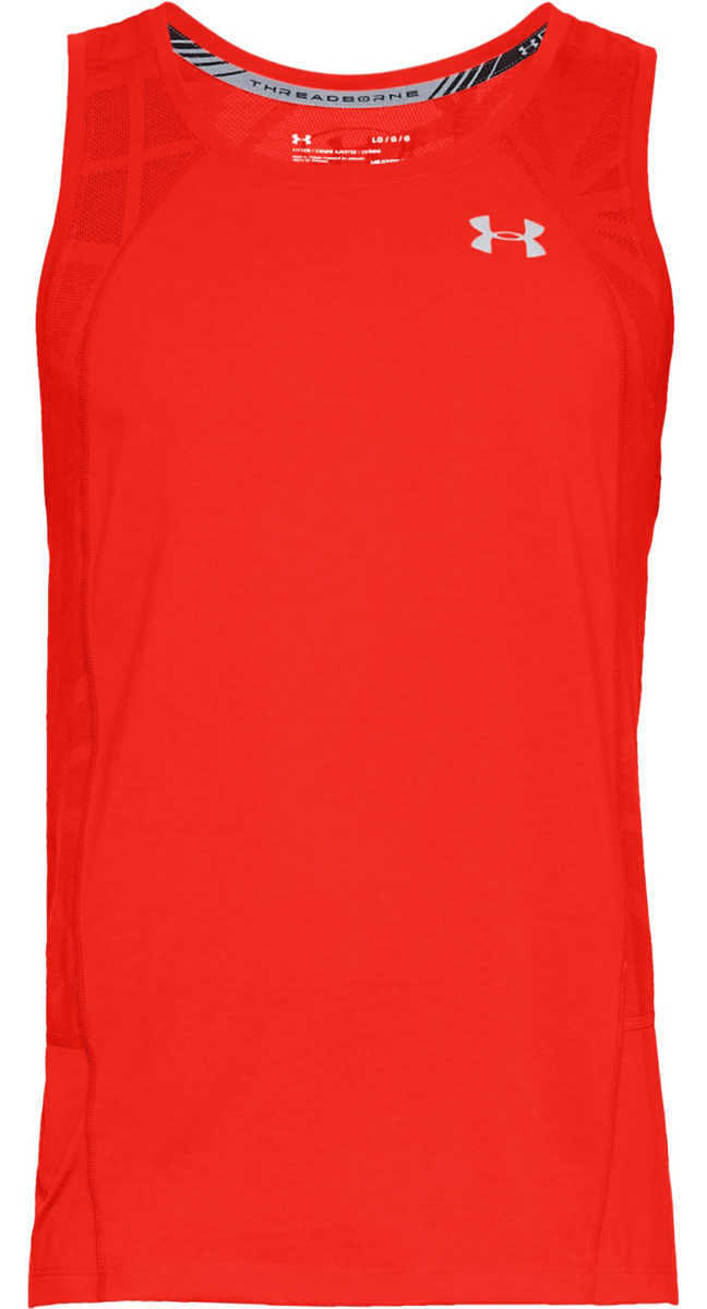 Under Armour Swyft Top Red Orange GOOFASH 265308