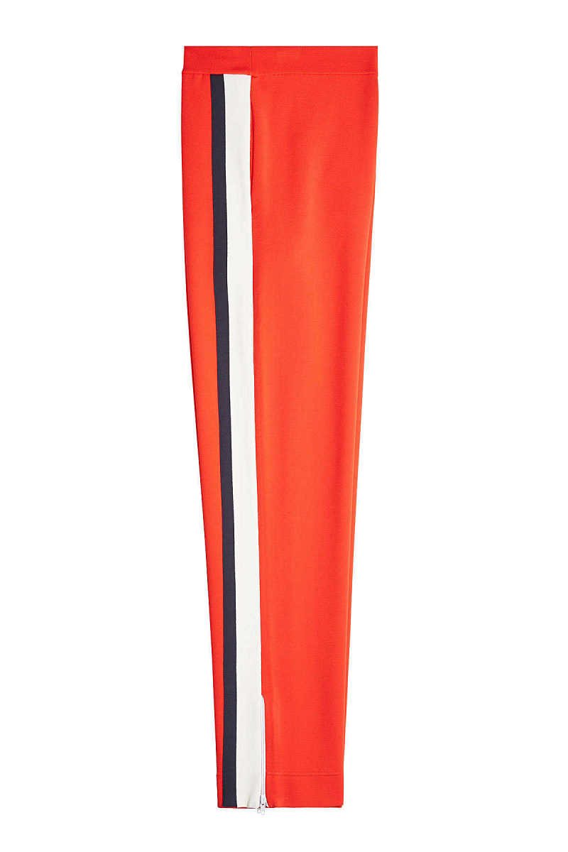 Valentino Track Pants with Zipped Ankles GOOFASH 281870