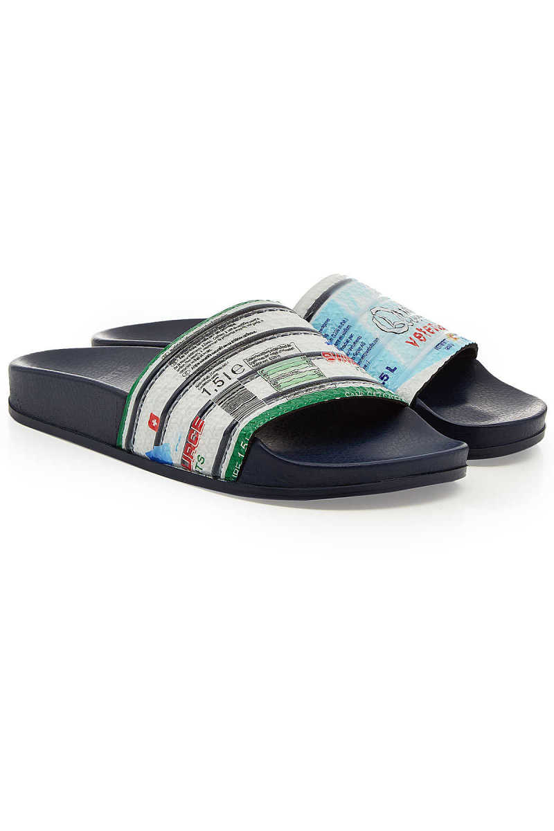 Vetements Printed Slides GOOFASH 282028