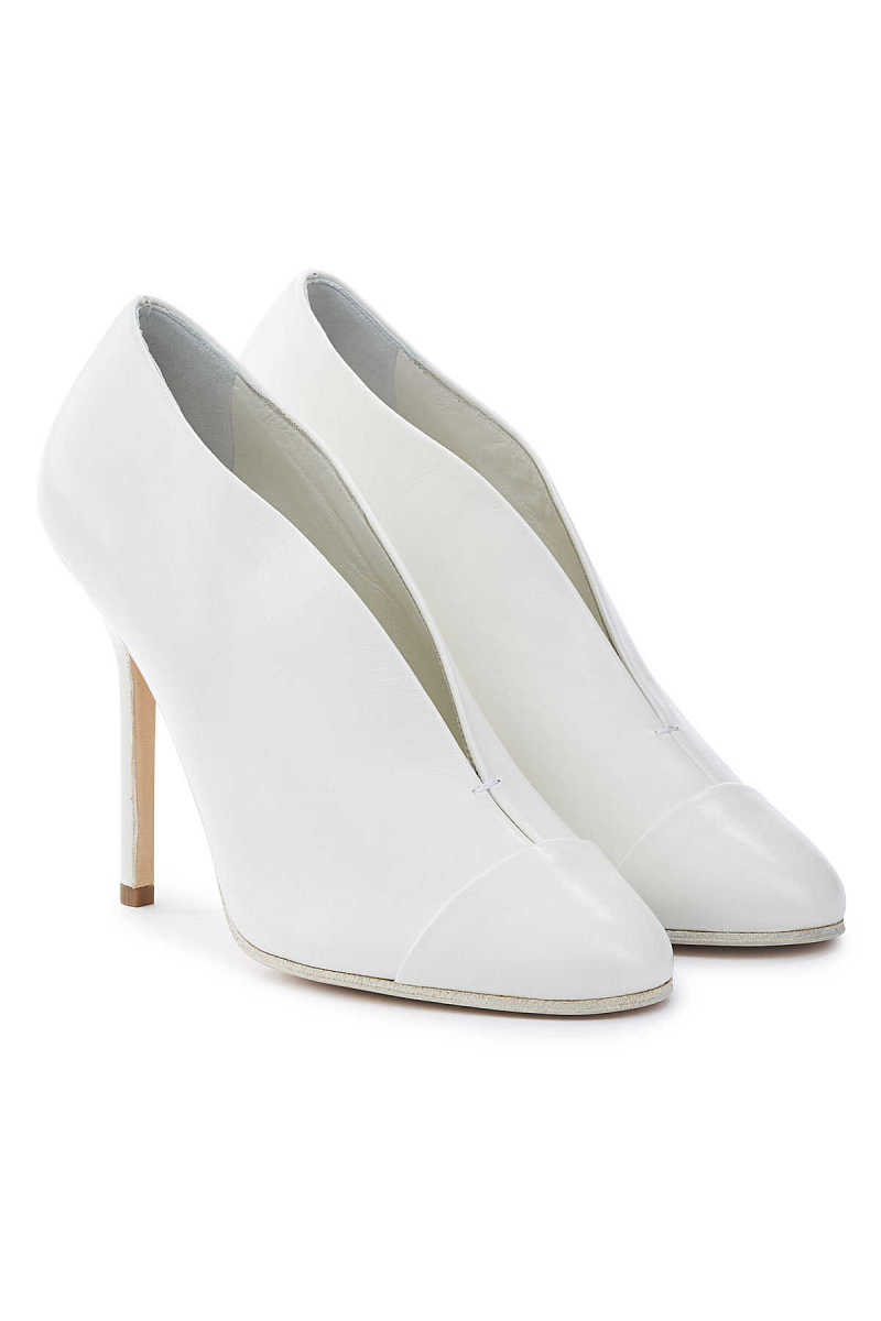 Victoria Beckham New Pin Leather Pumps GOOFASH 292673