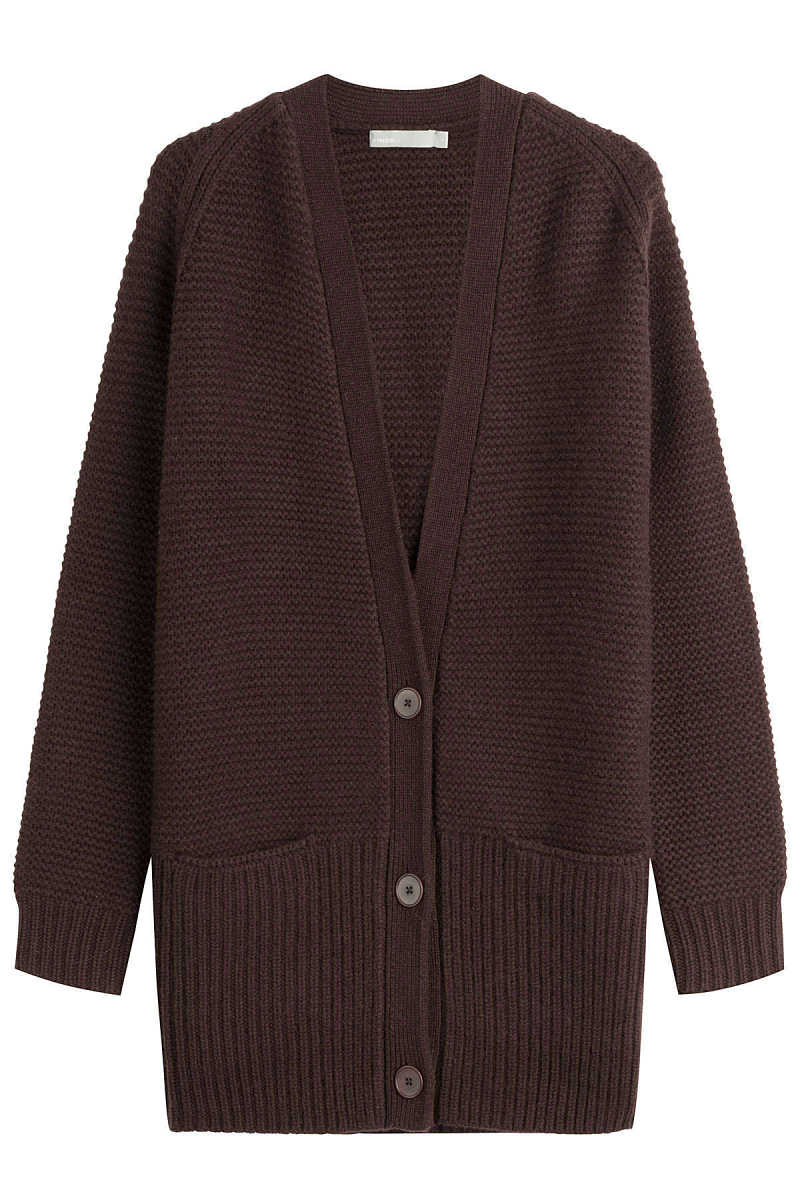 Vince Wool and Cashmere Cardigan GOOFASH 258749