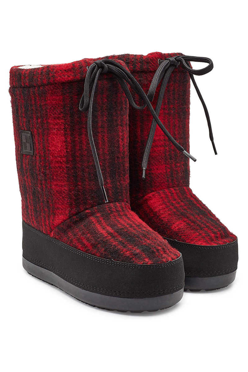 Woolrich Arctic Snow Wool Ankle Boots GOOFASH 291438