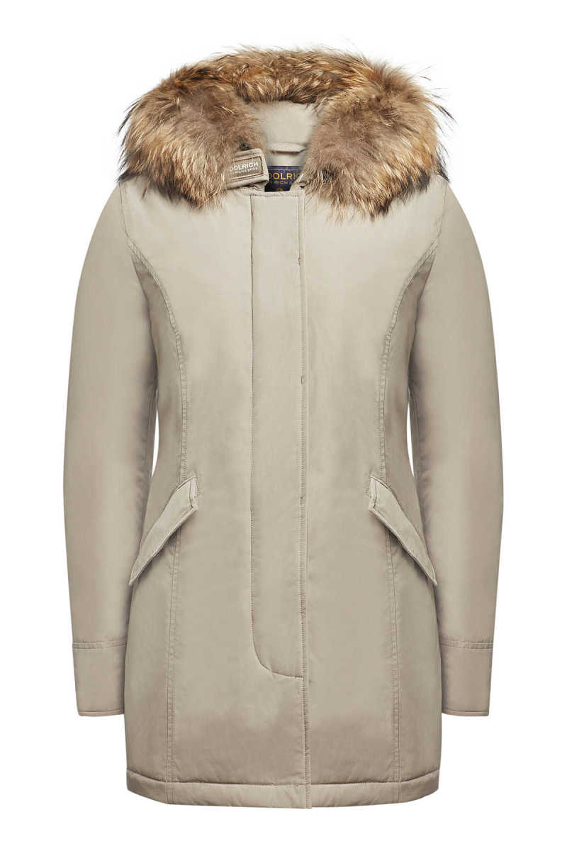 Woolrich Luxury Arctic Down Parka with Fur-Trimmed Hood GOOFASH 291400