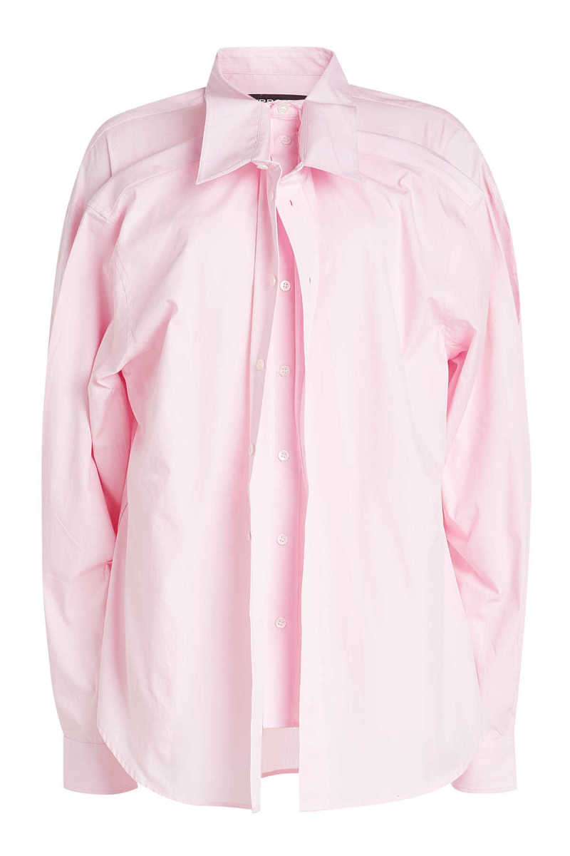 Y/Project Double Front Cotton Shirt GOOFASH 291759