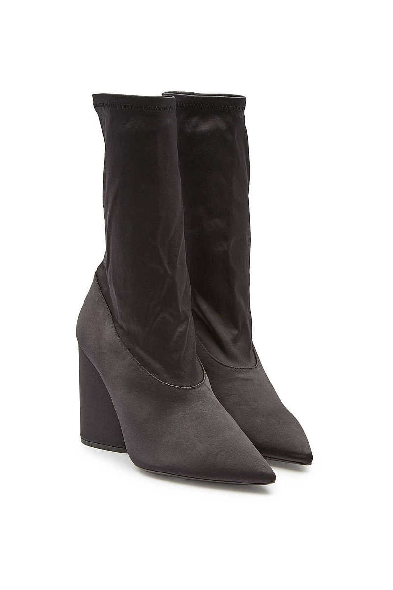 Yeezy Stretch Satin Ankle Boots GOOFASH 291619