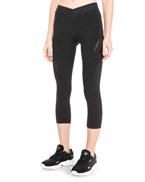 adidas Originals Alphaskin Tech Leggings Black GOOFASH 285877