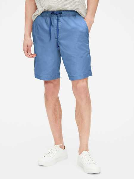 "9"" Easy Shorts Admiral Blue - Gap - GOOFASH"