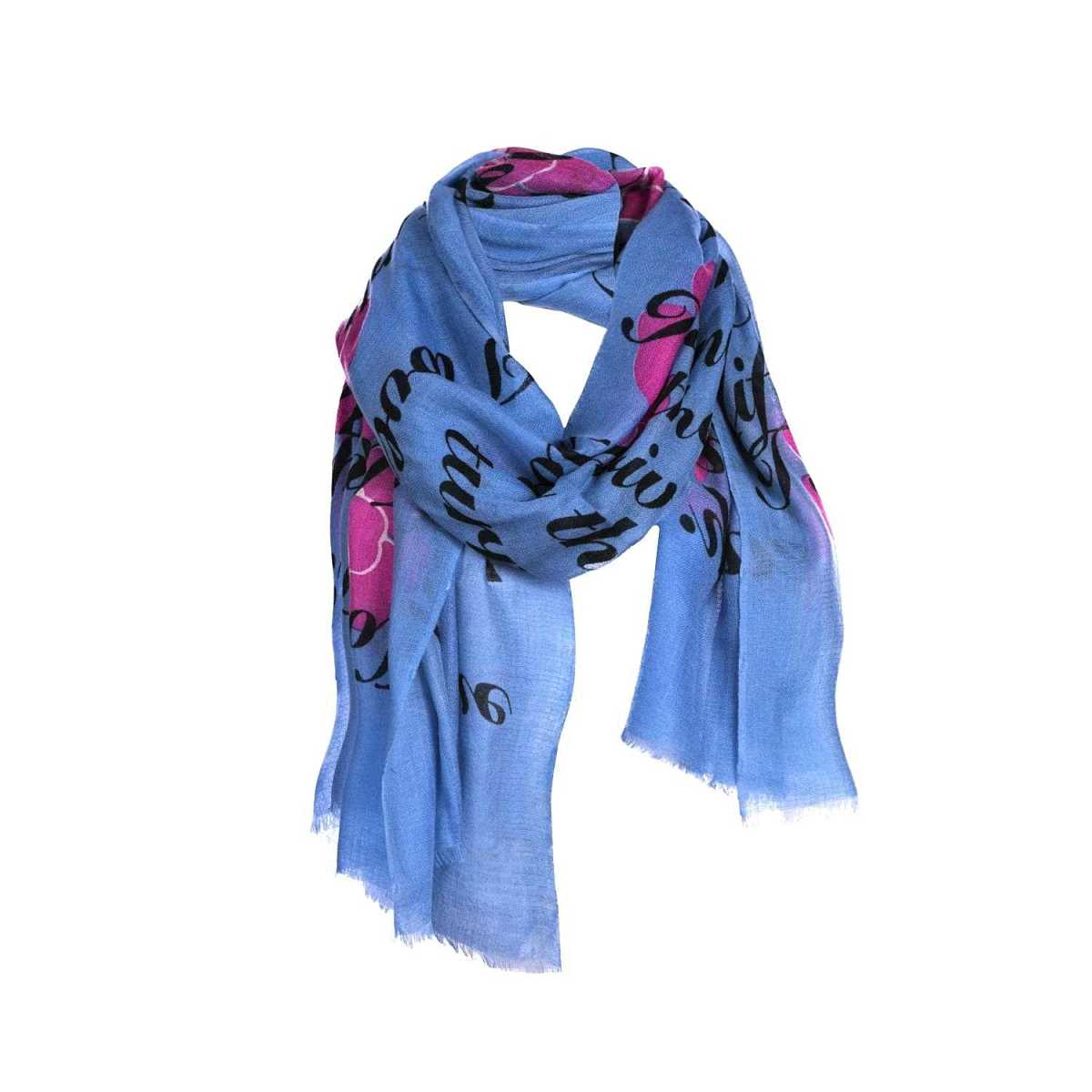 Asneh - Large Cashmere Scarf - Wolf And Badger - GOOFASH
