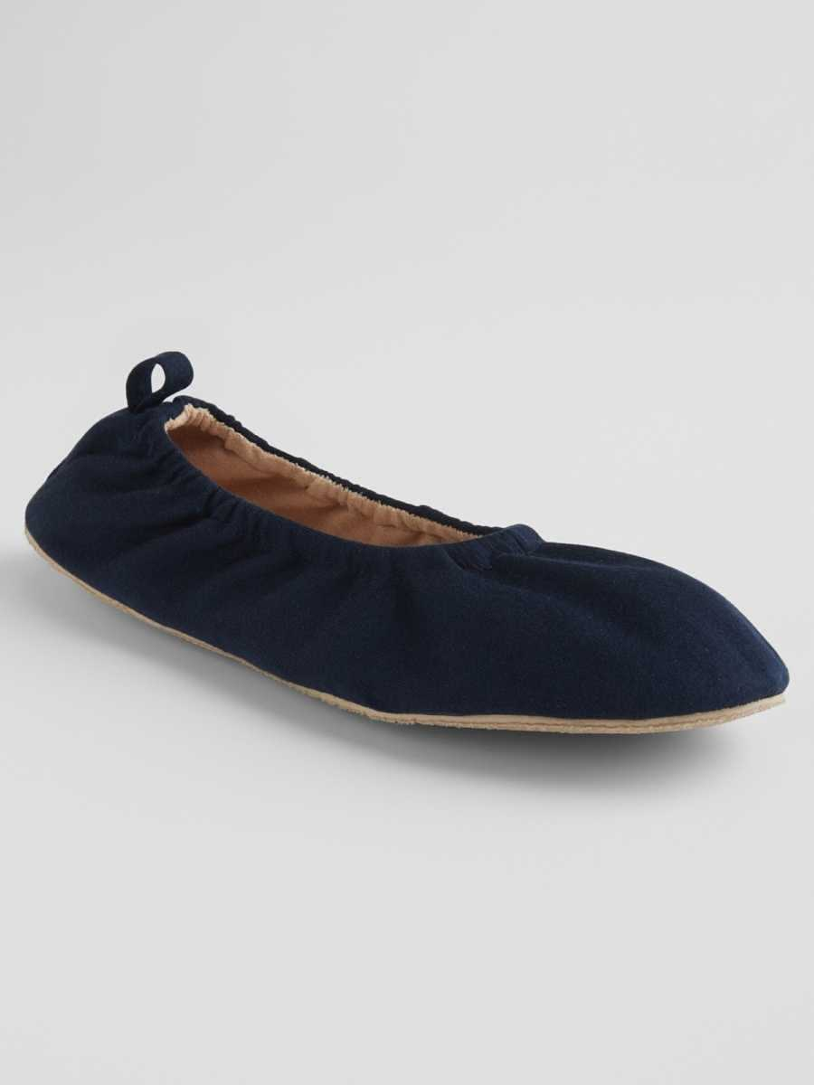 Ballet Slippers Navy - Gap - GOOFASH